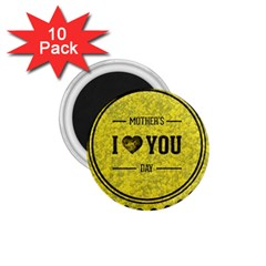 Happy Mother Day 1 75  Magnets (10 Pack)