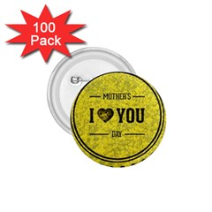 Happy Mother Day 1 75  Buttons (100 Pack)