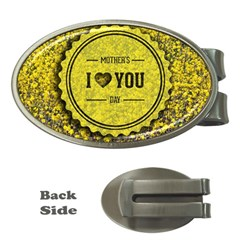 Happy Mother Day Money Clips (Oval)