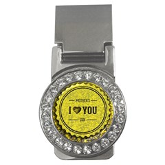 Happy Mother Day Money Clips (cz)