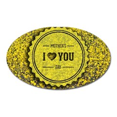 Happy Mother Day Oval Magnet