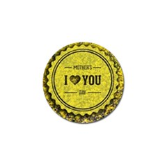 Happy Mother Day Golf Ball Marker (10 pack)