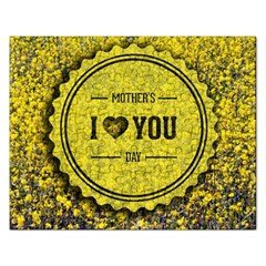 Happy Mother Day Rectangular Jigsaw Puzzl
