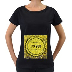 Happy Mother Day Women s Loose-Fit T-Shirt (Black)