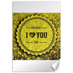 Happy Mother Day Canvas 12  X 18