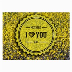 Happy Mother Day Large Glasses Cloth