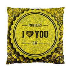 Happy Mother Day Standard Cushion Case (two Sides)