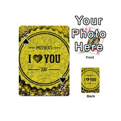 Happy Mother Day Playing Cards 54 (mini)