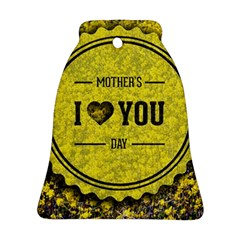 Happy Mother Day Bell Ornament (Two Sides)