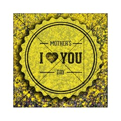 Happy Mother Day Acrylic Tangram Puzzle (6  x 6 )