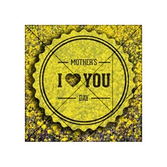 Happy Mother Day Acrylic Tangram Puzzle (4  x 4 )