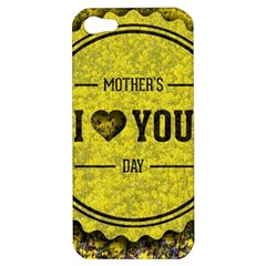 Happy Mother Day Apple iPhone 5 Hardshell Case