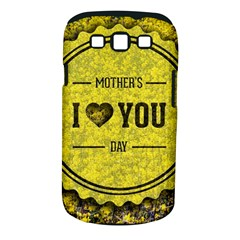 Happy Mother Day Samsung Galaxy S III Classic Hardshell Case (PC+Silicone)