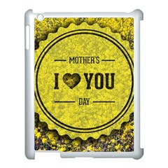 Happy Mother Day Apple iPad 3/4 Case (White)