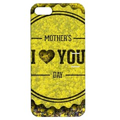 Happy Mother Day Apple iPhone 5 Hardshell Case with Stand