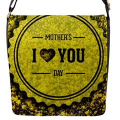 Happy Mother Day Flap Messenger Bag (S)