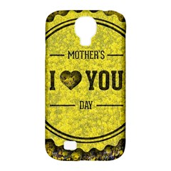 Happy Mother Day Samsung Galaxy S4 Classic Hardshell Case (PC+Silicone)