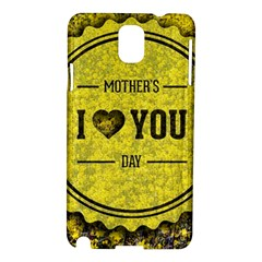 Happy Mother Day Samsung Galaxy Note 3 N9005 Hardshell Case