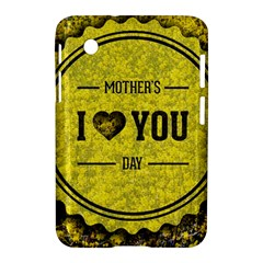 Happy Mother Day Samsung Galaxy Tab 2 (7 ) P3100 Hardshell Case