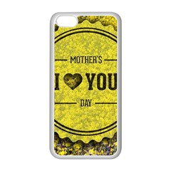 Happy Mother Day Apple Iphone 5c Seamless Case (white)