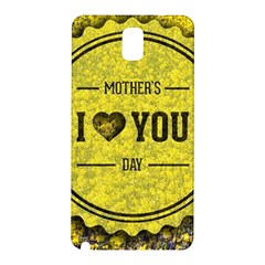 Happy Mother Day Samsung Galaxy Note 3 N9005 Hardshell Back Case