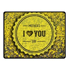 Happy Mother Day Double Sided Fleece Blanket (Small)