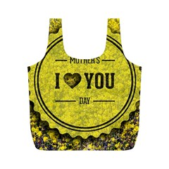 Happy Mother Day Full Print Recycle Bags (M)