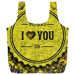 Happy Mother Day Full Print Recycle Bags (L)