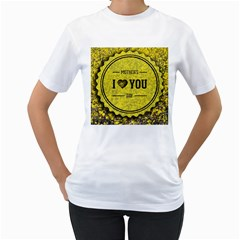 Happy Mother Day Women s T-Shirt (White)