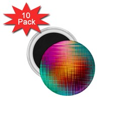 Colourful Weave Background 1 75  Magnets (10 Pack)