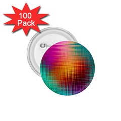Colourful Weave Background 1.75  Buttons (100 pack)