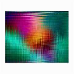 Colourful Weave Background Small Glasses Cloth