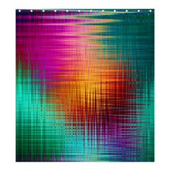 Colourful Weave Background Shower Curtain 66  X 72  (large)