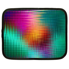 Colourful Weave Background Netbook Case (XL)