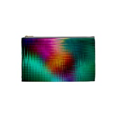 Colourful Weave Background Cosmetic Bag (Small)
