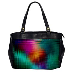 Colourful Weave Background Office Handbags