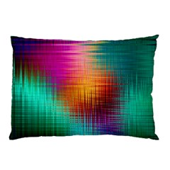 Colourful Weave Background Pillow Case (Two Sides)