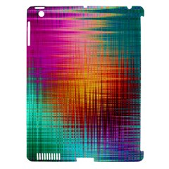 Colourful Weave Background Apple iPad 3/4 Hardshell Case (Compatible with Smart Cover)