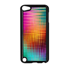 Colourful Weave Background Apple iPod Touch 5 Case (Black)