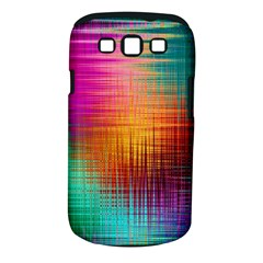 Colourful Weave Background Samsung Galaxy S III Classic Hardshell Case (PC+Silicone)