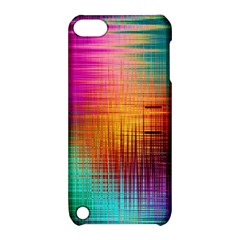 Colourful Weave Background Apple iPod Touch 5 Hardshell Case with Stand