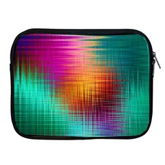 Colourful Weave Background Apple iPad 2/3/4 Zipper Cases