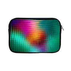 Colourful Weave Background Apple iPad Mini Zipper Cases