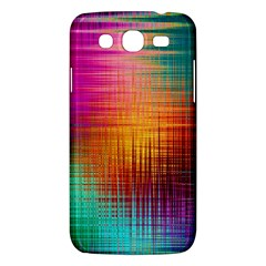 Colourful Weave Background Samsung Galaxy Mega 5.8 I9152 Hardshell Case