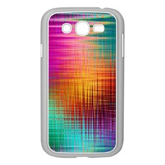 Colourful Weave Background Samsung Galaxy Grand DUOS I9082 Case (White)