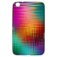 Colourful Weave Background Samsung Galaxy Tab 3 (8 ) T3100 Hardshell Case