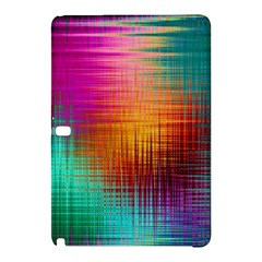 Colourful Weave Background Samsung Galaxy Tab Pro 10.1 Hardshell Case
