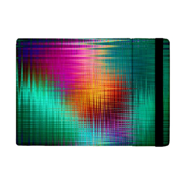 Colourful Weave Background iPad Mini 2 Flip Cases