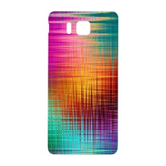 Colourful Weave Background Samsung Galaxy Alpha Hardshell Back Case