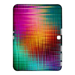 Colourful Weave Background Samsung Galaxy Tab 4 (10.1 ) Hardshell Case
